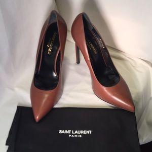 Yves Saint Laurent designer heels